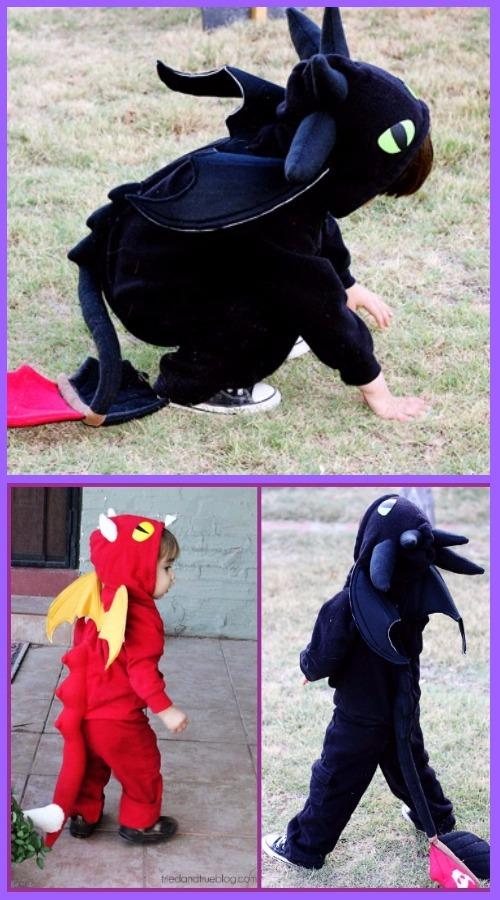 DIY Halloween DIY Dragon Costume Tutorial