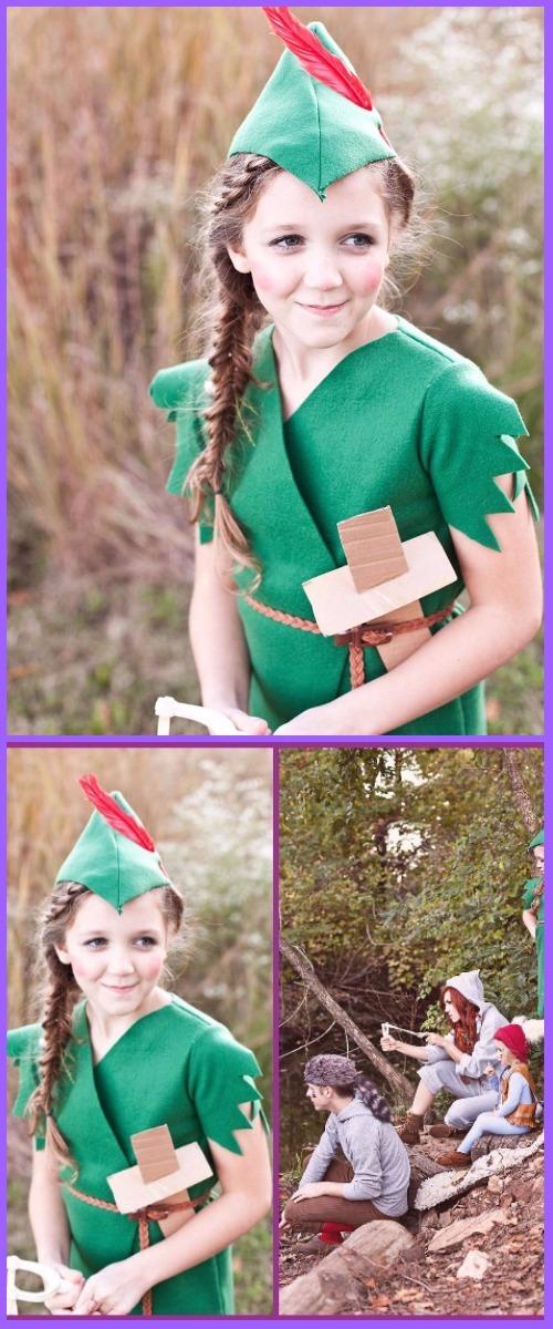 DIY Peter Pan Costume Tutorial