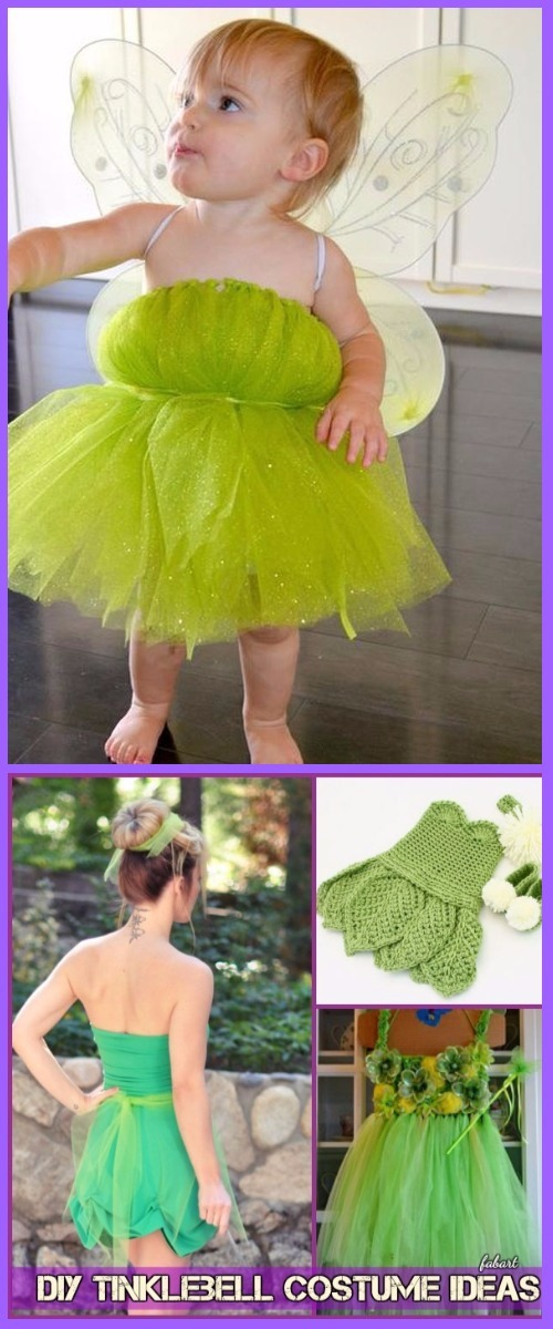 DIY Halloween Tinklebell Costume Ideas and Tutorials