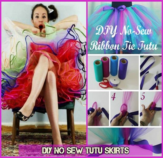 DIY No Sew Tutu Skirt Tutorials