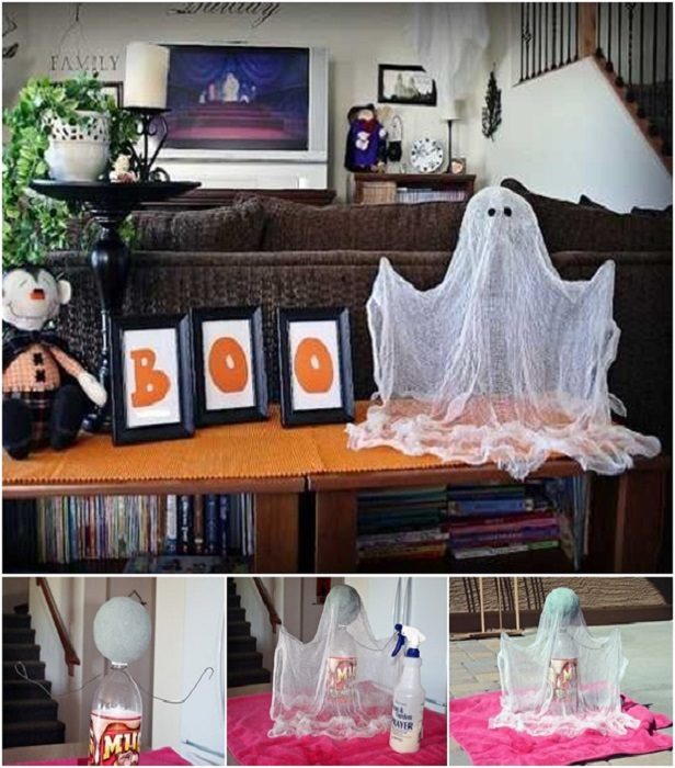 DIY Simple Floating Ghost Tutorial