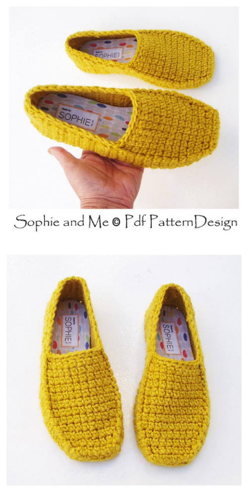 Winter Loafer Crochet Pattern