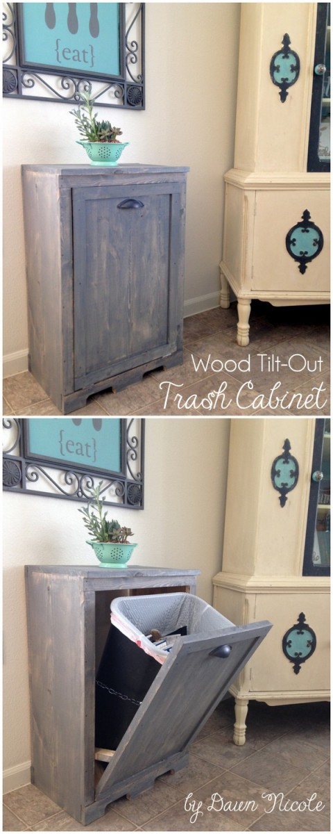 Wowthumbsup Diy Pull Out Trash Can Tutorials 4 Diy Magazine