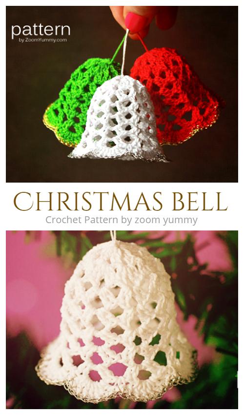 Christmas Bells Crochet Pattern + Video
