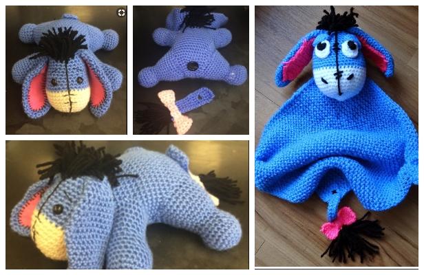 Crochet Eeyore Amigurumi Free Patterns