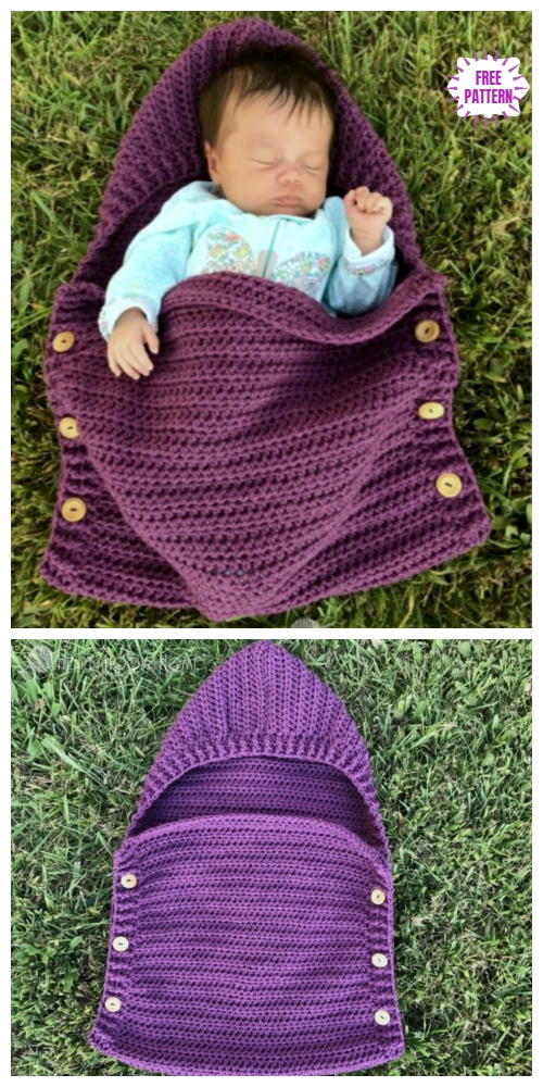 Crochet Newborn Sleep Sack Free Crochet Pattern
