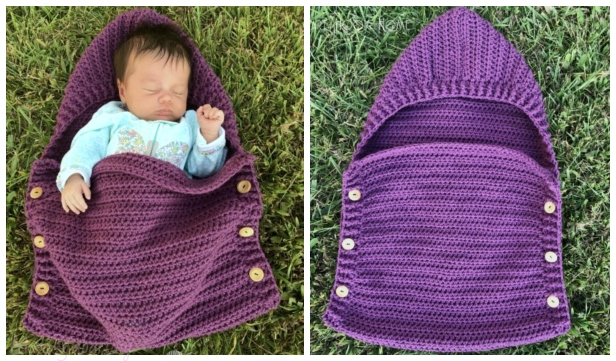 Crochet Newborn Sleep Sack Free Patterns