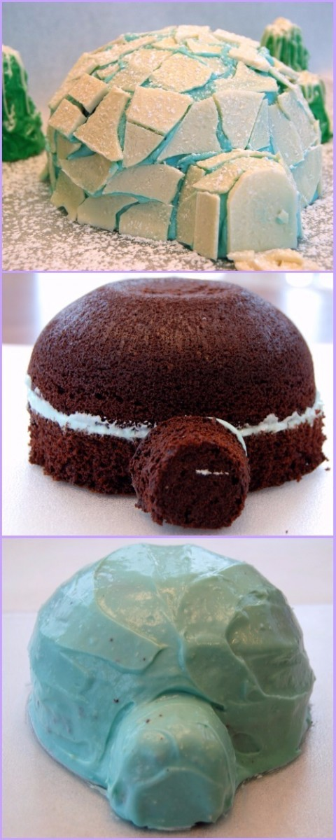 DIY Igloo Cake Tutorial