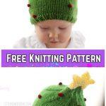 Knit Baby Christmas Tree HatFree Knitting Patternby Cassandra May