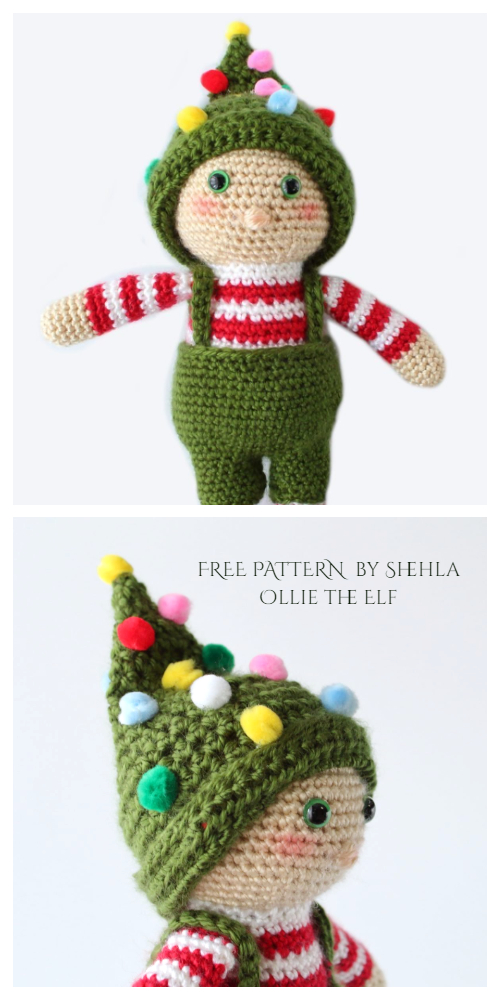 Crochet Ollie the Elf Amigurumi Free Pattern
