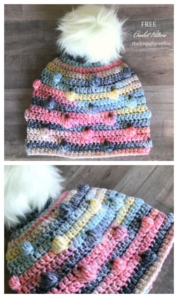 The Bobble Hat Free Crochet Pattern