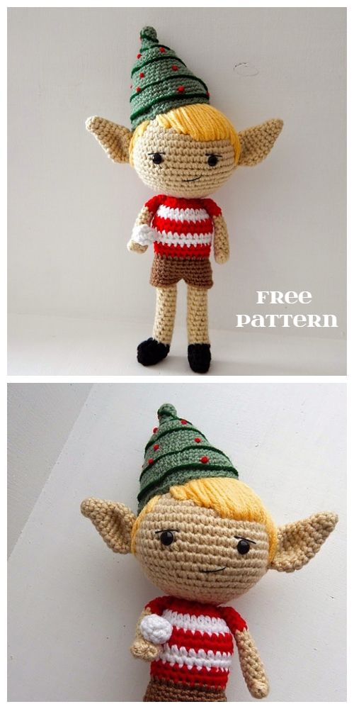 Crochet Elf Doll Amigurumi Patterns - Crochet Elf Free Amigurumi Patterns