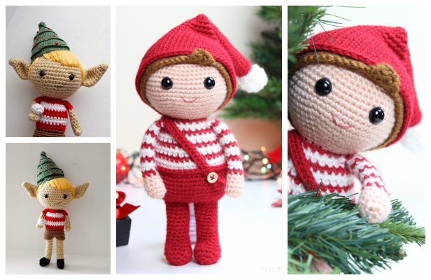Christmas crochet Archives - Amigurumi Today | 400x616