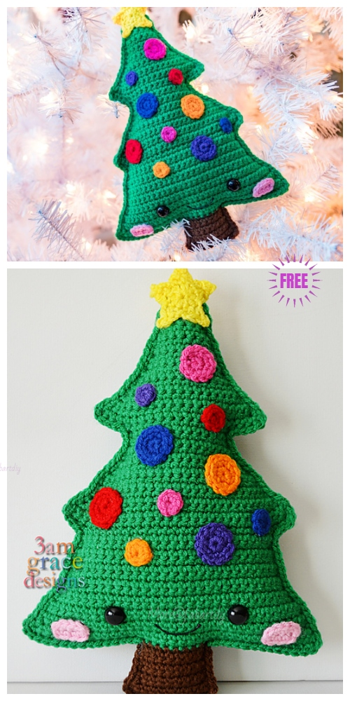 Free Christmas Crochet Patterns All The Best Ideas | The WHOot | 1000x500