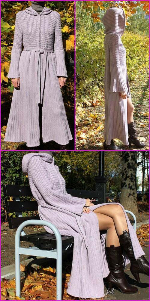 Elfin Coat Free Knitting Pattern