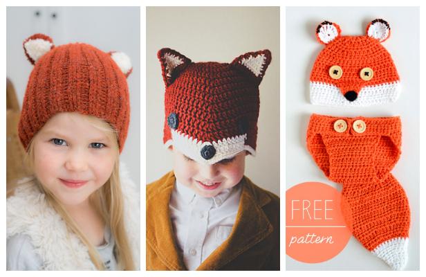 Crochet Fox Hat Free Crochet Patterns