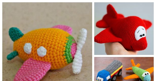 Airplane Crochet Pattern Amigurumi Airplane Pattern Crochet | Etsy | 320x616