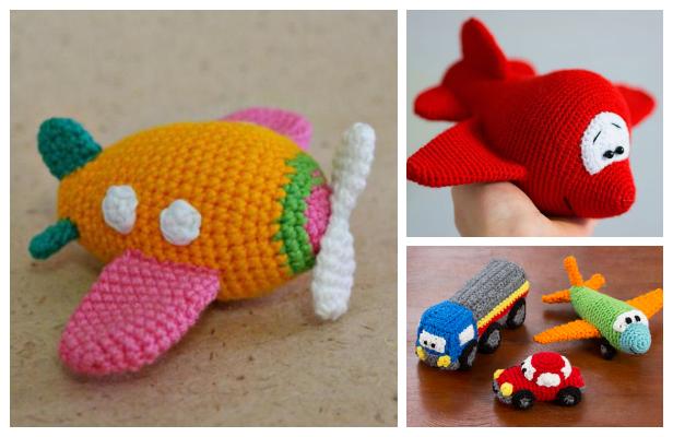 Airplane crochet pattern (Free Amigurumi Patterns) | Crochet ... | 400x616