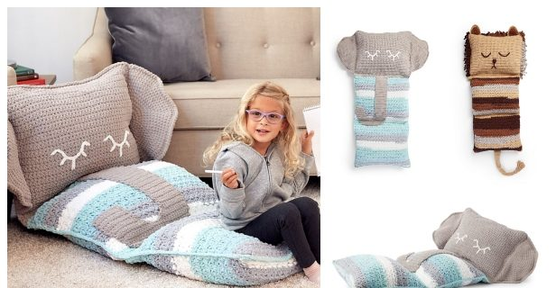 Josefina and Jeffery Elephant Pillow PDF Crochet Pattern | 320x616