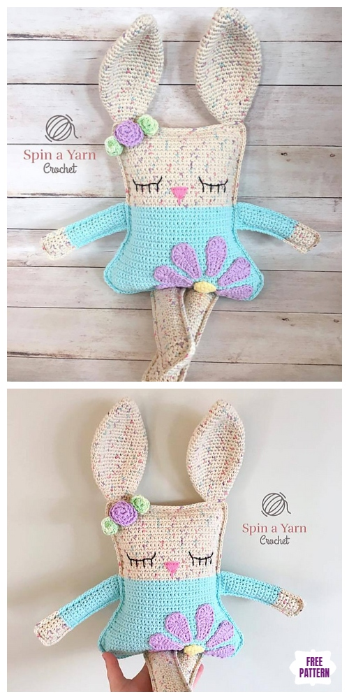 Crochet Ragdoll Spring Bunny Amigurumi Free Pattern