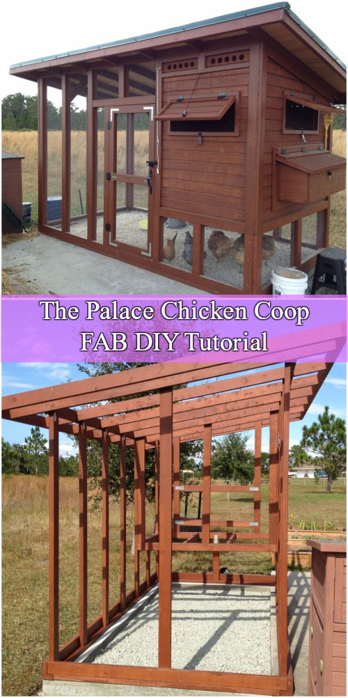 DIY The Palace Chicken Coop Tutorial