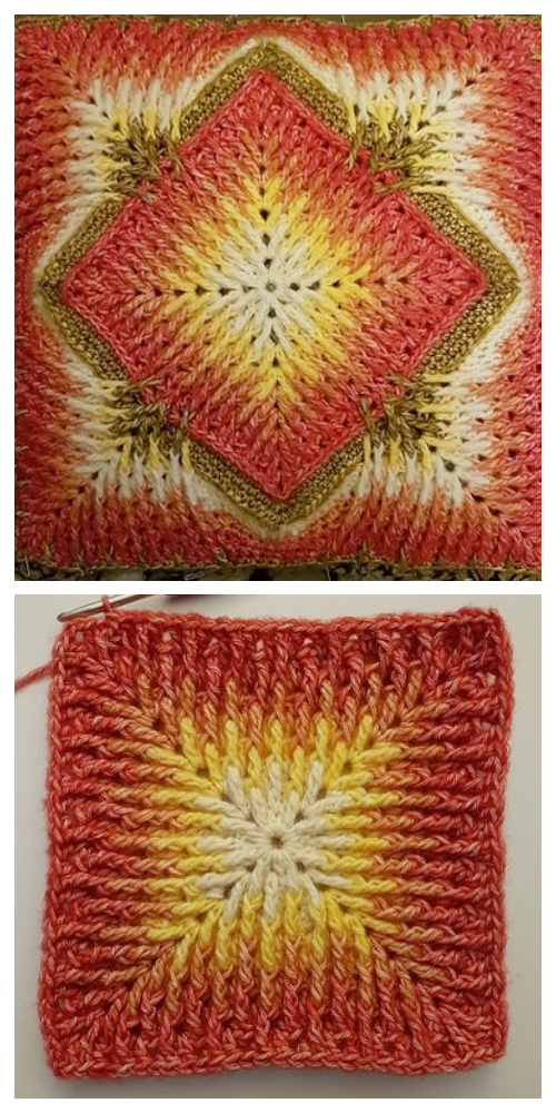 Elements Cal Blanket Free Crochet Pattern + Video Tutorial