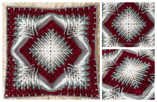 Elements Cal Blanket Free Crochet Pattern + Video