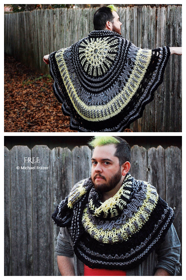 Knit Ponyo On The Waves Shawl Free Knitting Pattern