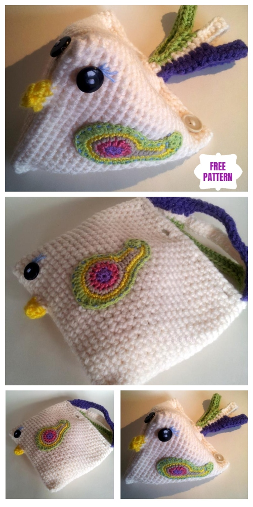 Crochet Chicken Critter Toy Free Patterns- Mama Chicken Crochet Free Pattern
