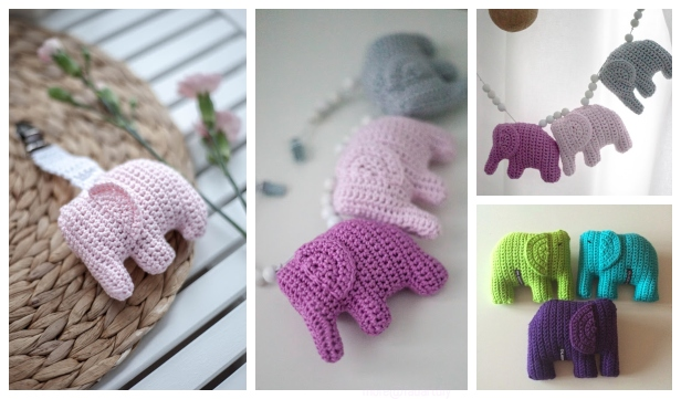 Amigurumi Crochet Elephant Pattern   Supergurumi   361x616