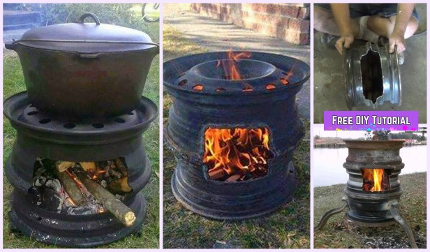 Diy Car Wheel Rim Bbq Grill Tutorial Video
