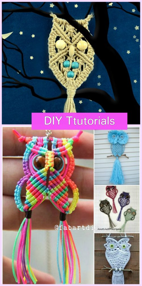DIY Macrame Owl Tutorial with Video
