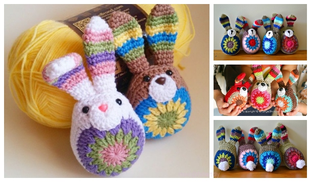 Free Easter Crochet Patterns The Best Collection | The WHOot | 361x616