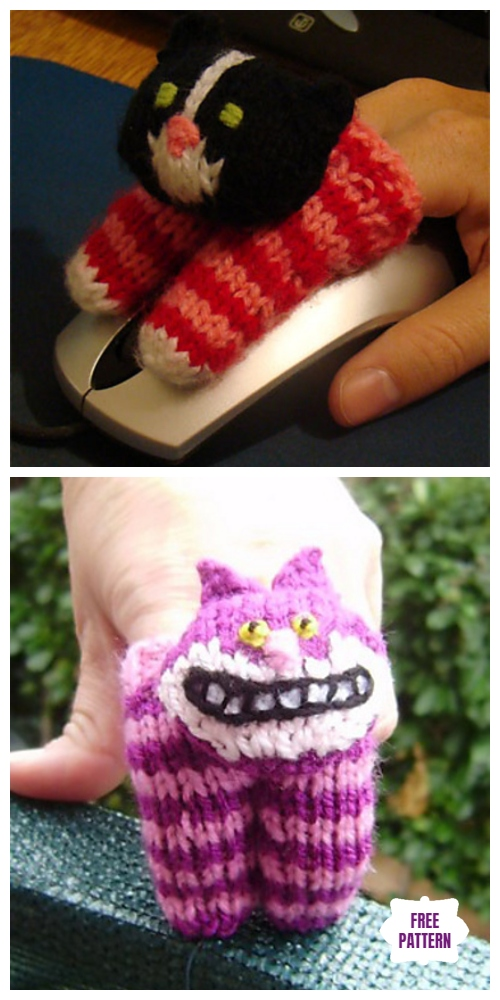 Knit Two Finger Puppets Free Knitting Patterns