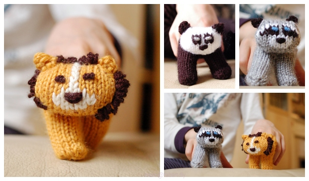free knitting patterns for finger puppets