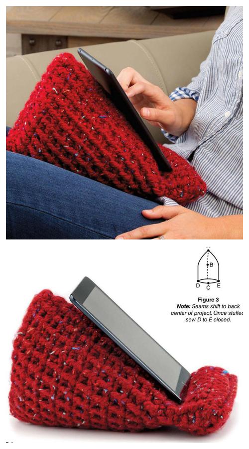 Tablet Stand Holder Free Crochet Patterns