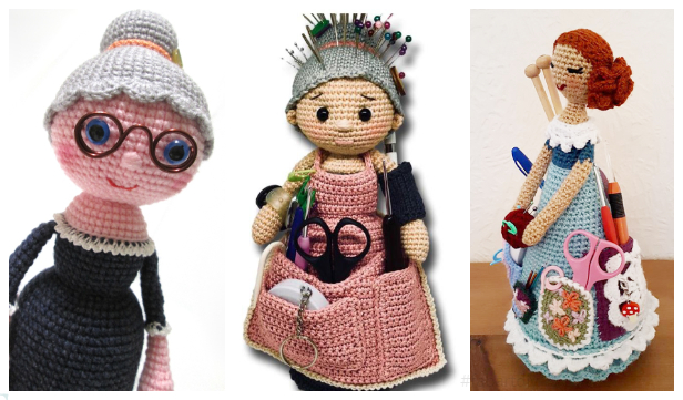 Crochet Crafter Granny Doll Amigurumi Free Patterns