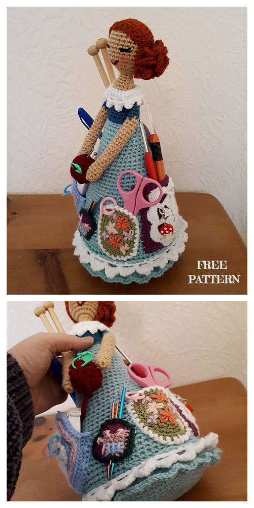 The Most Beautiful Amigurumi Doll Free Crochet Patterns | Crochet ... | 1000x500