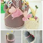 Crochet Crafter Granny Doll Organizer Amigurumi Free Pattern