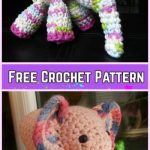 Crochet Elephant Plush Toy Amigurumi Free Patterns-Crochet Meimei Baby Elephant Amigurumi Free Pattern