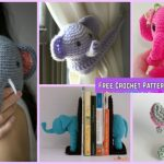 Crochet Elephant Plush Toy Amigurumi Free Patterns
