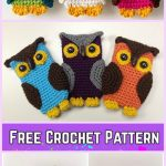 Crochet Owl Cell Phone Cozy Free Patterns