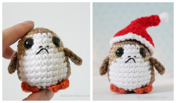 Crochet Star War Porg Amigurumi Free Patterns