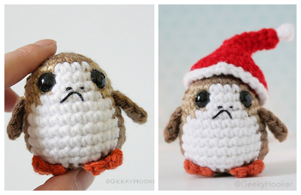 Crochet Star War Porg Toy Amigurumi Free Patterns
