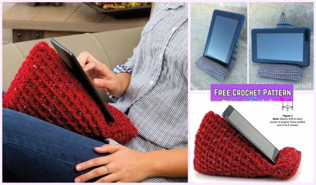 Crochet Tablet Stand Holder Free Patterns