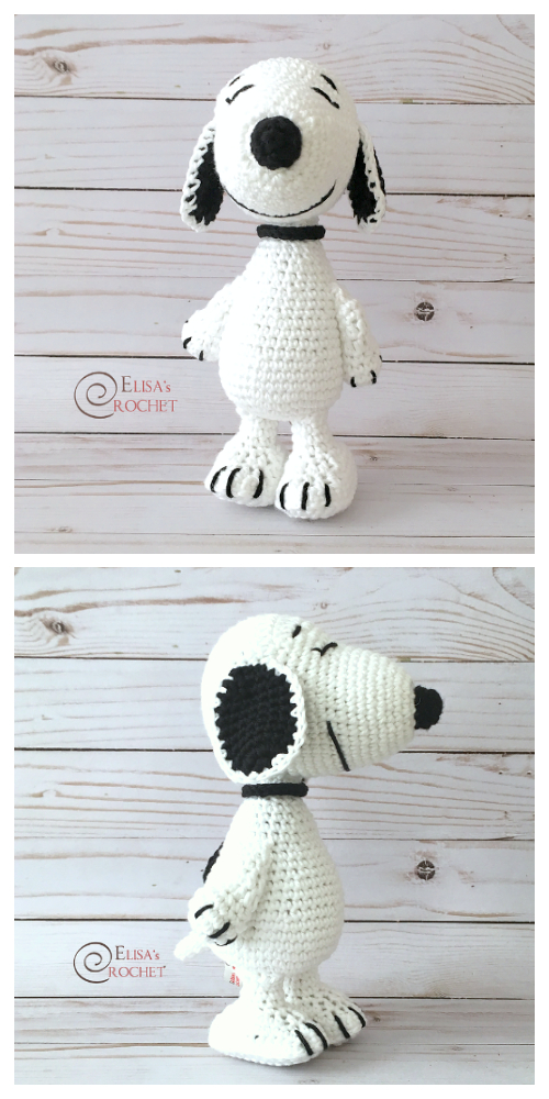 Crochet Snoopy Toys Amigurumi Free Patterns