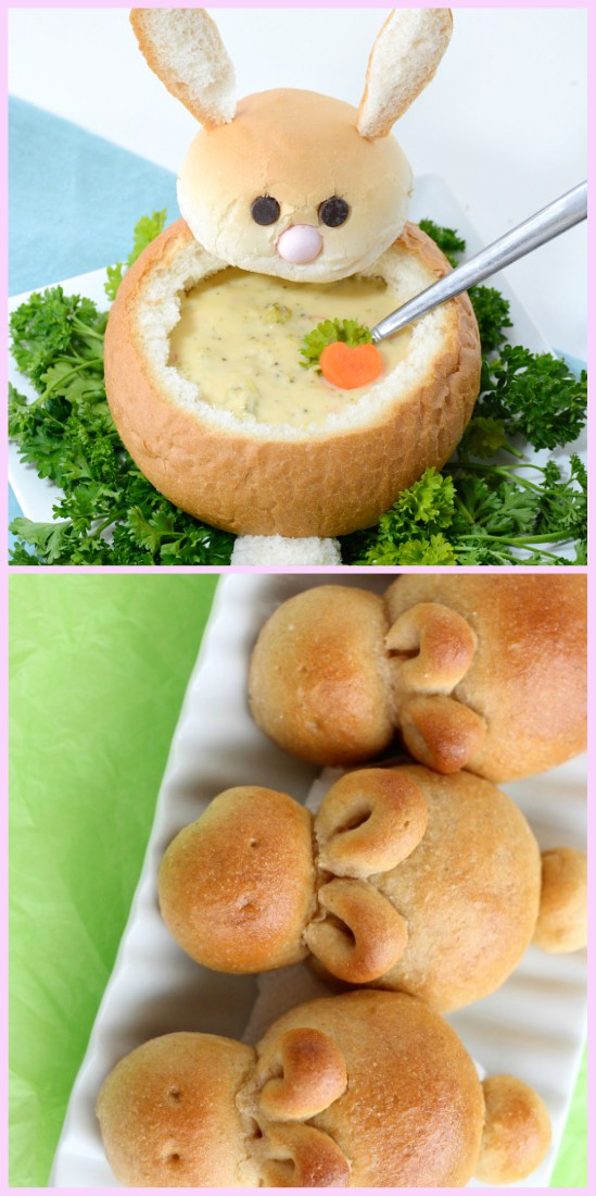 Easter Bunny Bread Bowl DIY Recipe