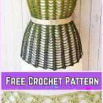 Crochet Pineapple Stitch Lacy Love Dress Free Crochet Pattern for Ladies