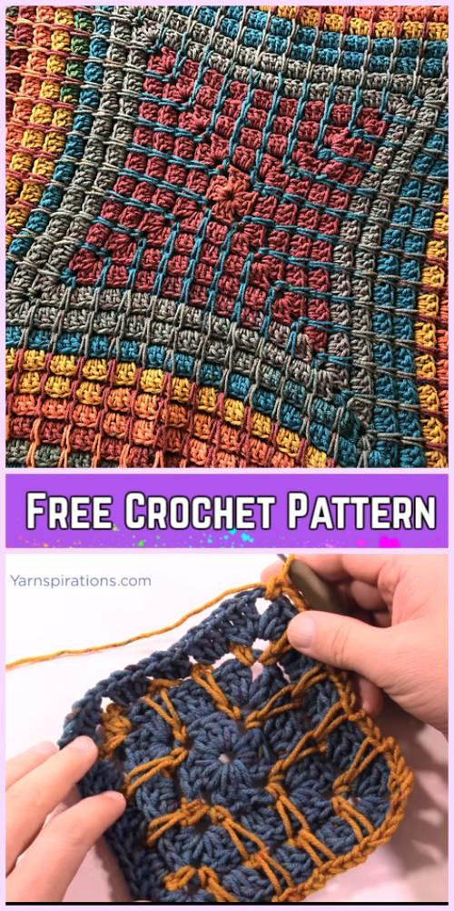 Crochet Pandora's Box Blanket Free Pattern-Video