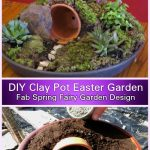 DIY Clay Pot Easter Resurrection Garden Tutorial